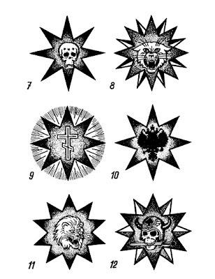Татуировки российских «воров в законе» истории их  - татуировки воров в законе