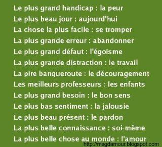 citation et proverbe en image   Poème d'amour SMS