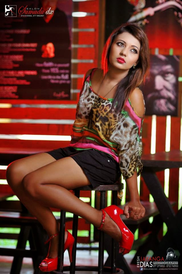 Shani Shenaya Wickremasinghe shorts hot