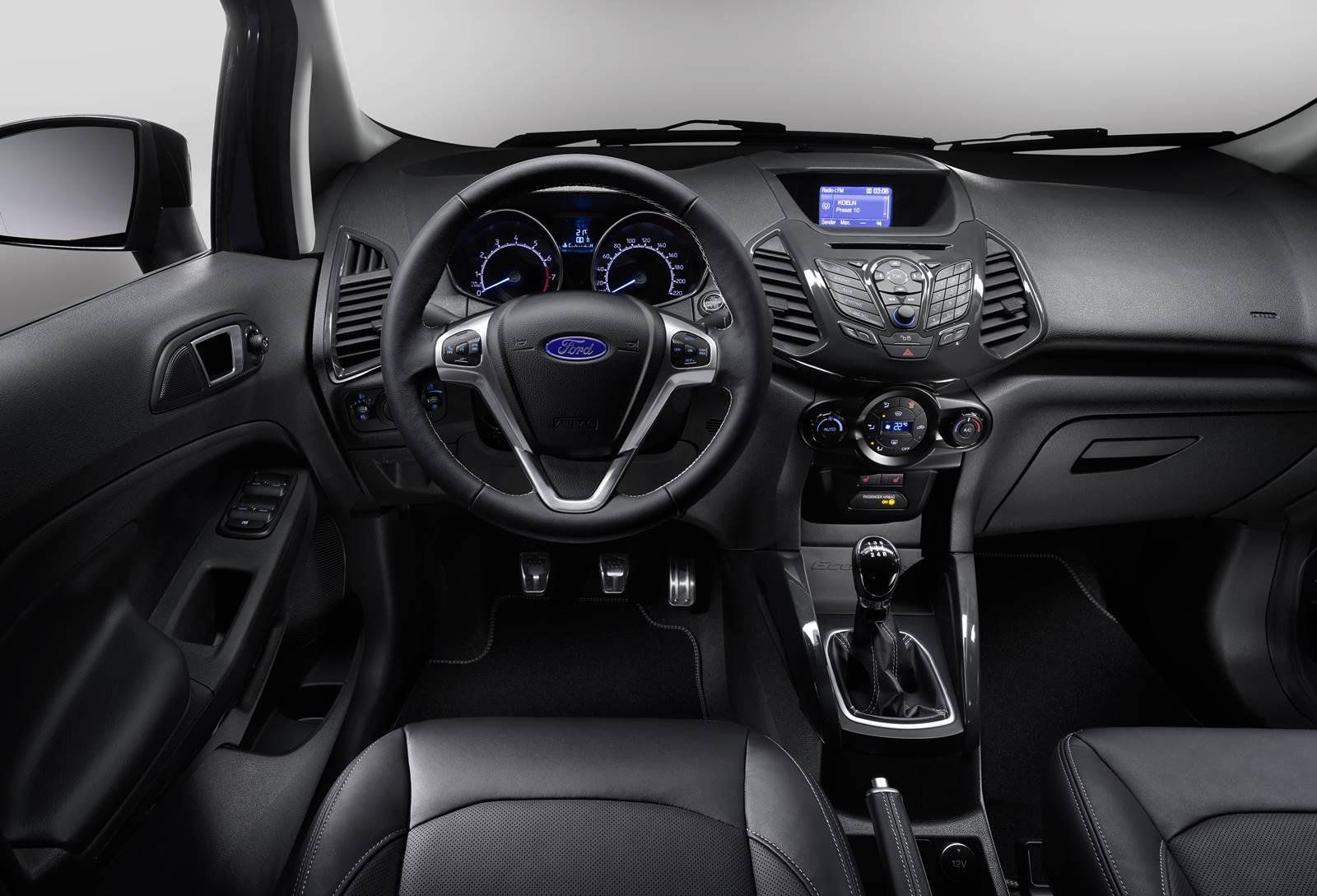 Novo Ford EcoSport S 2016 - interior