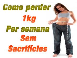 Como perder 1 kg por semana sem sacrifícios