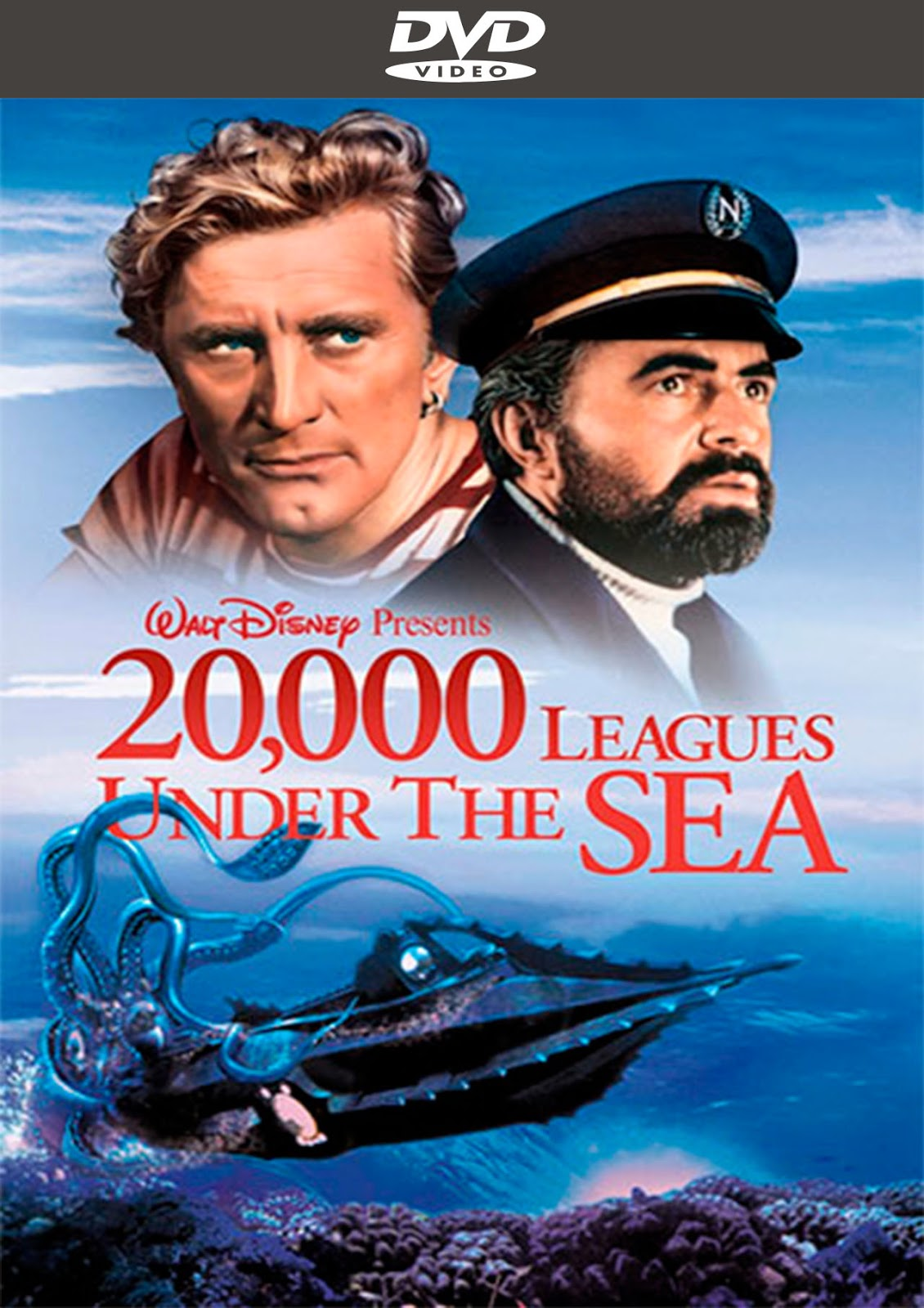 20,000 Leagues Under The Sea [1954] [Latino] [DvD Full]