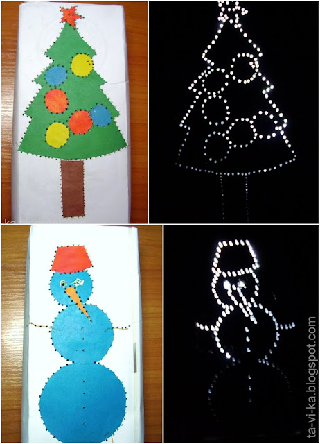 новогодний фонарик своими руками christmascraft