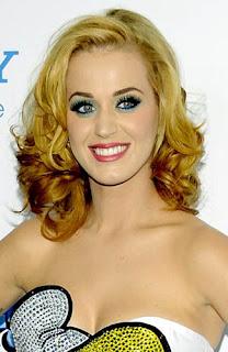 Gaya Rambut Katy Perry