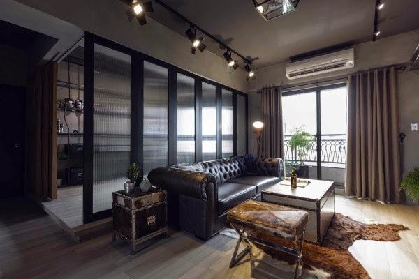 Apartamento industrial inspirado en los superheroes de Marvel