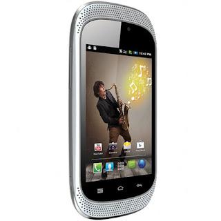 Spice Stellar Jazz Mi-353 Ponsel Android Dengan Dual Speaker