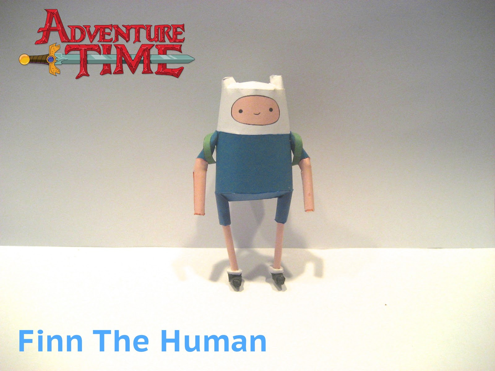 Finn the Human Papercraft
