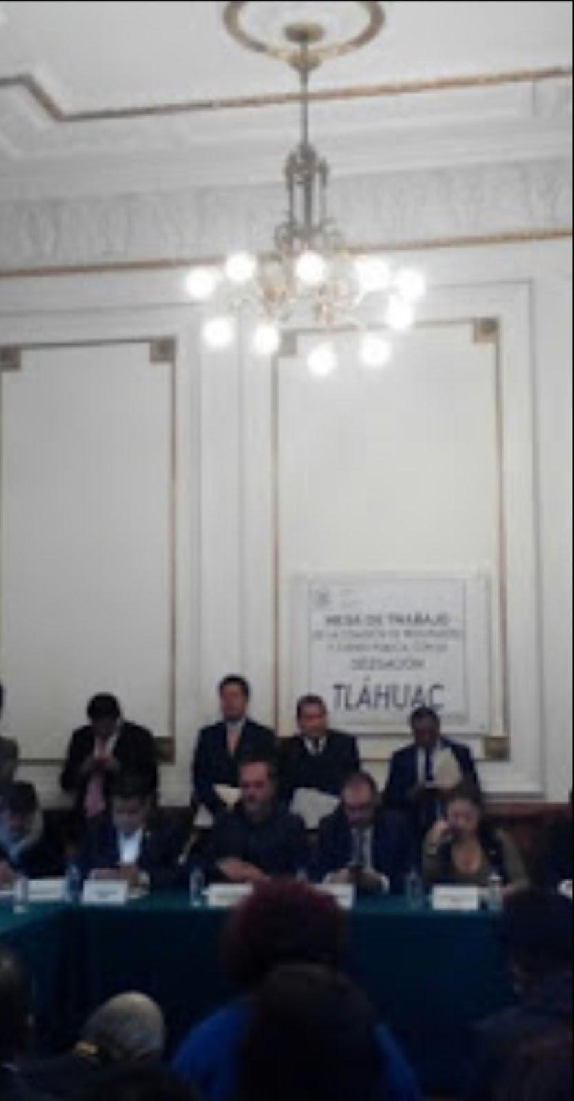 Delegado de Tláhuac pidió a la ALDF 1,561 mdp para ejercicio 2017