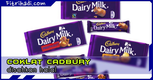 (Berita) Majlis Fatwa Kebangsaan Sahkan Coklat Cadbury Halal
