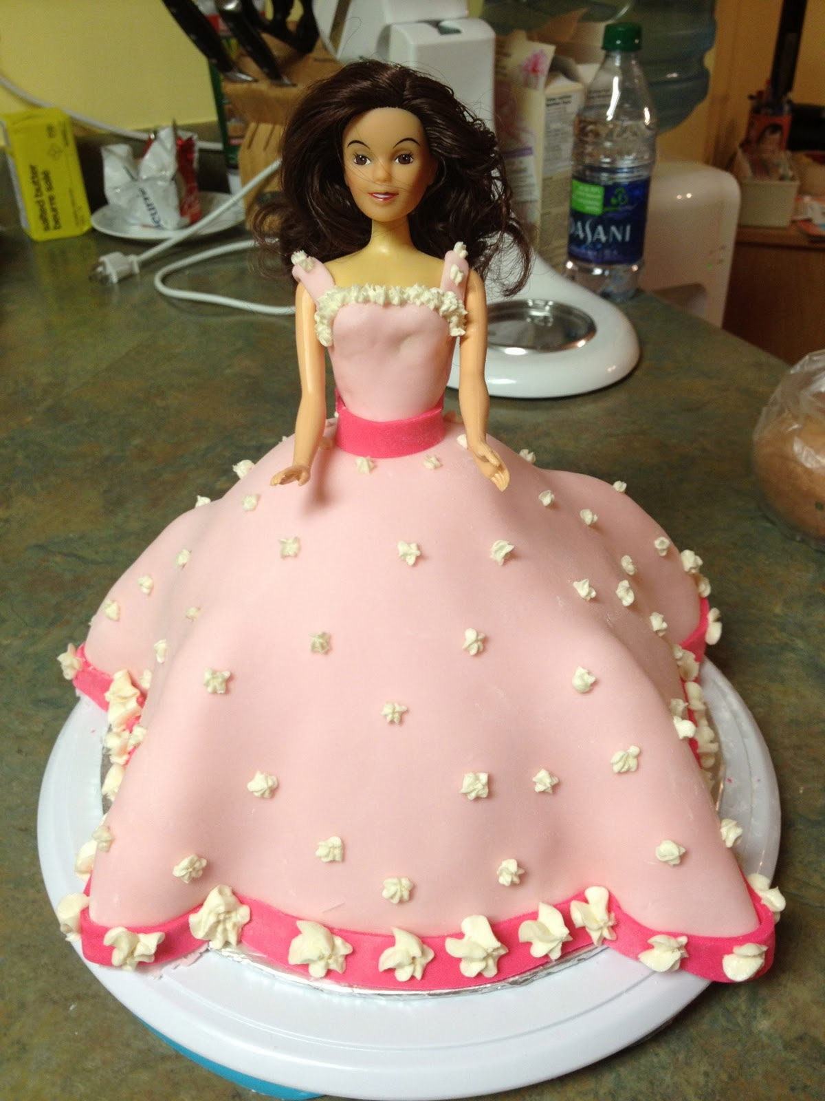 Cake Confections Barbie Doll Birthday Cake