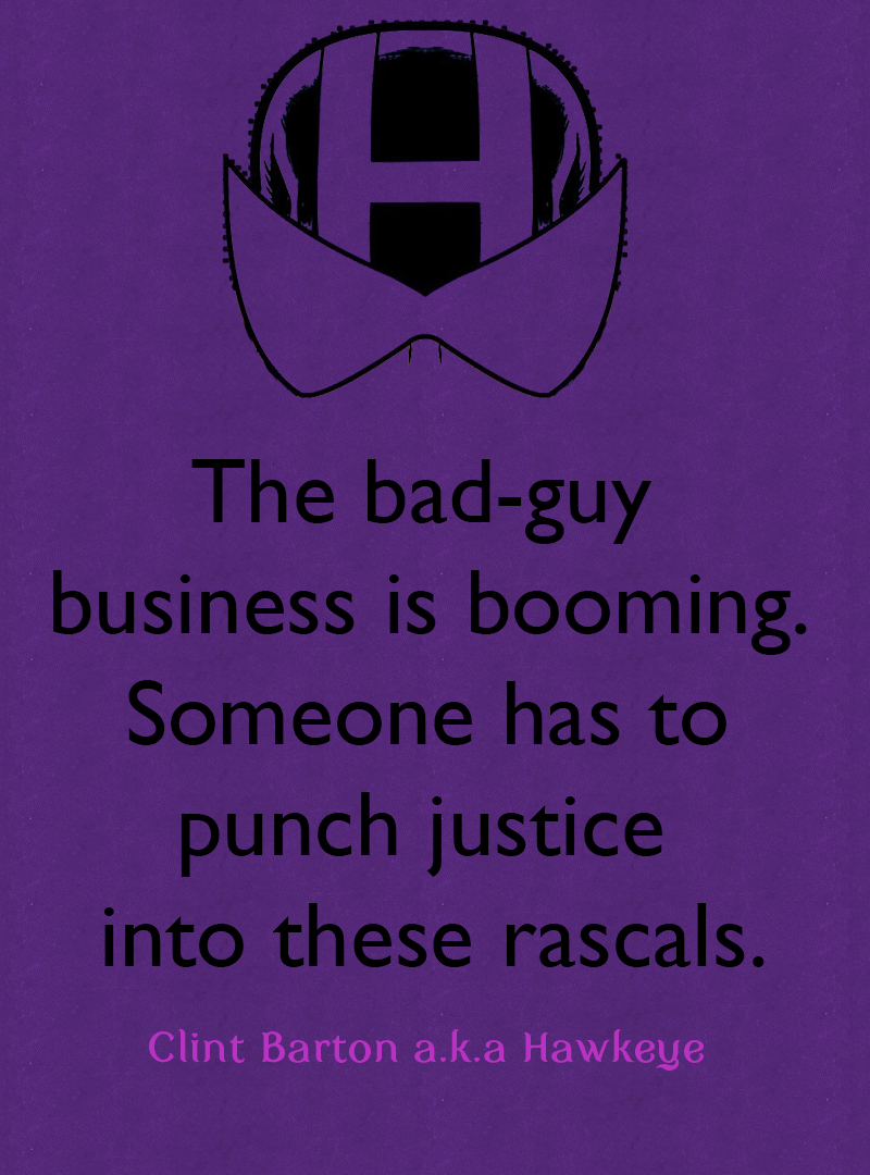 Hawkeye Comics Quote-1