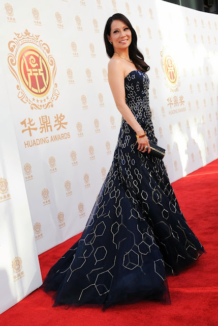 Lucy Liu at Huading Film Awards 2014