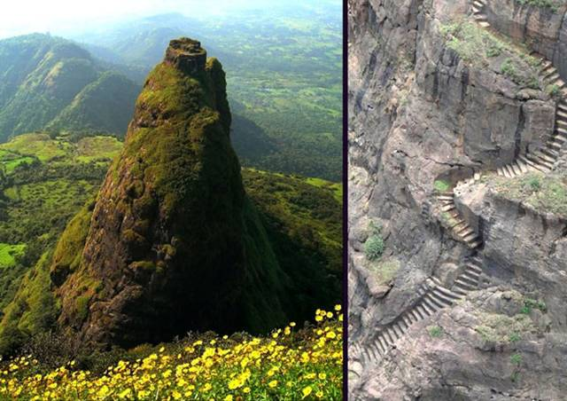 16.  Kalavantin Durg near Panvel, India