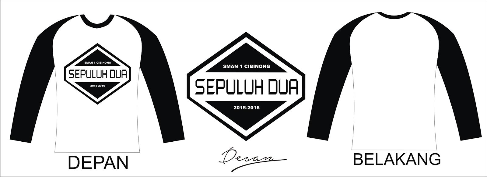 Contoh desain t shirt kelas - Desain Kaos Kelas X 2