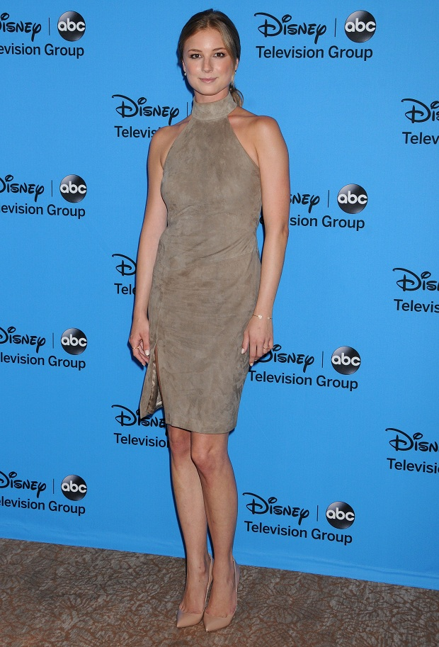 Emily VanCamp at the Disney & ABC's 2013 Summer TCA Party