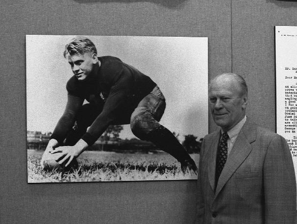 GeraldFord The Ocho: The Issue with Gerald Ford