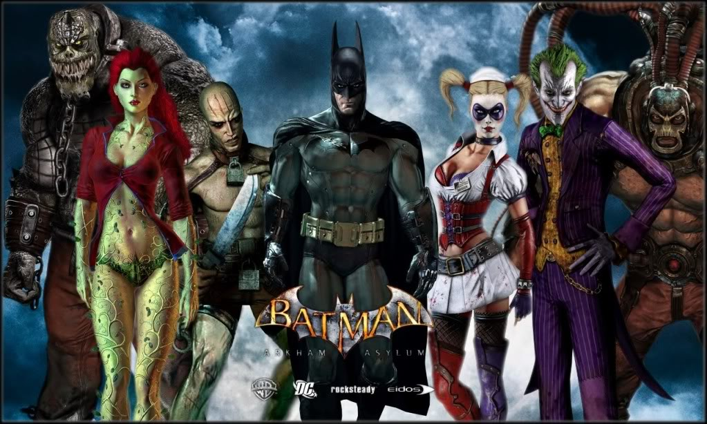 [Multi] Batman Arkham 3 officiellement en route Arkham-asylum+poster