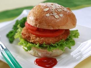 resep cara membuat burger daging istimewa