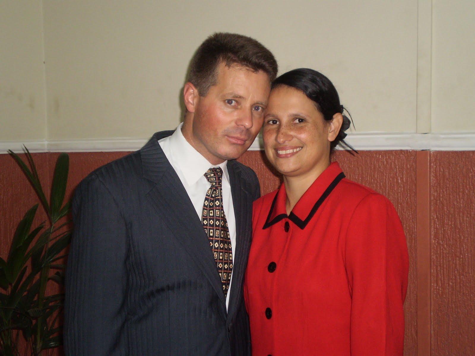 Pastor Gessé e irmã Cátia