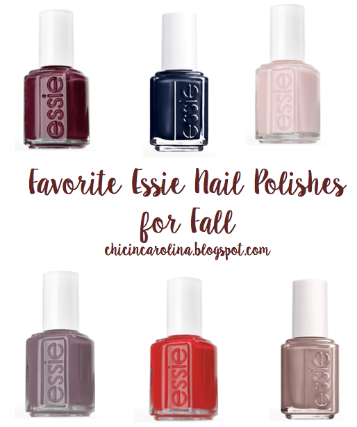 Chic in Carolina: Favorite Essie Nail Polishes for Fall