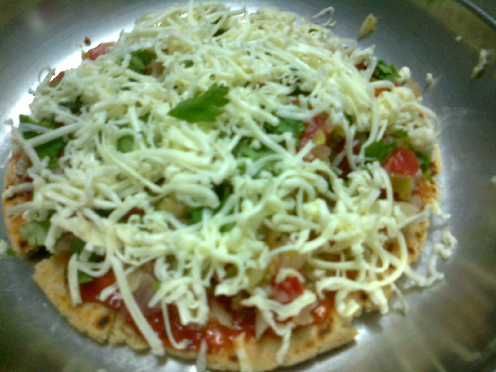 Gujarati Pizza From Bhkri