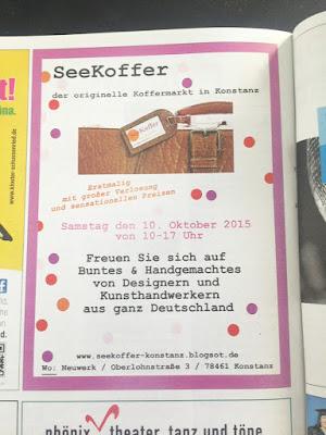 Seekoffer, Koffermarkt, Konstanz, Bodensee, Kunsthandwerkermarkt, Künstlermarkt, Designer, DIY,