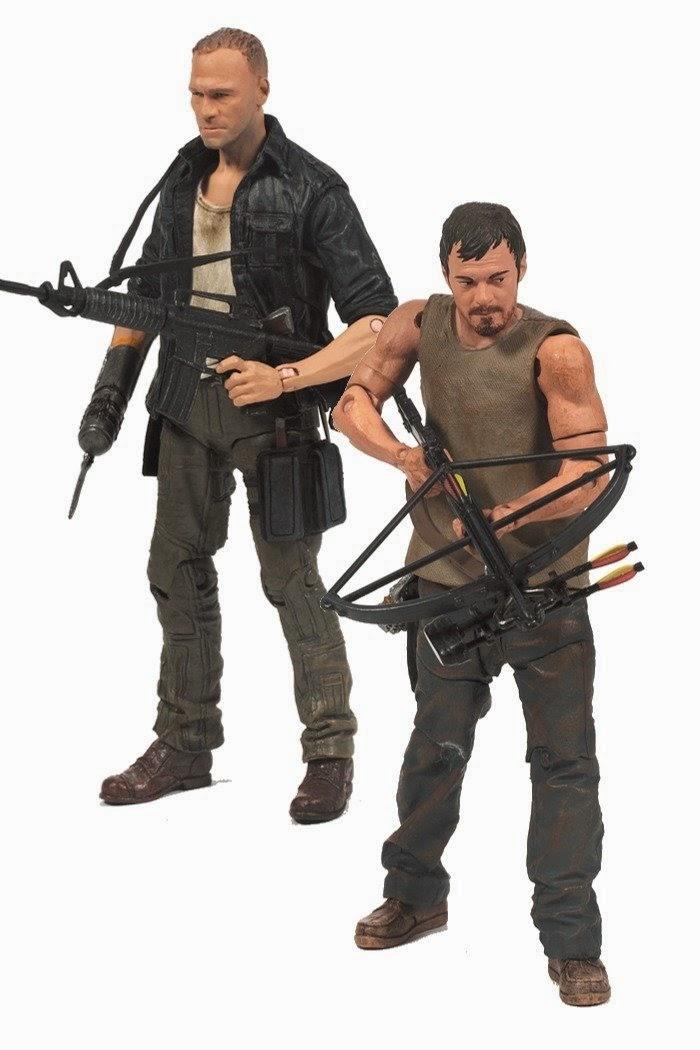 Figura regalo Merle Dixon y Daryl Dixon Walking Dead