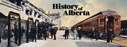 history of alberta archival images