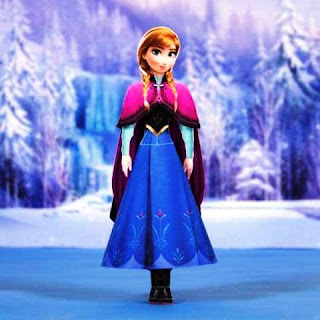 Wallpaper gambar Anna Frozen