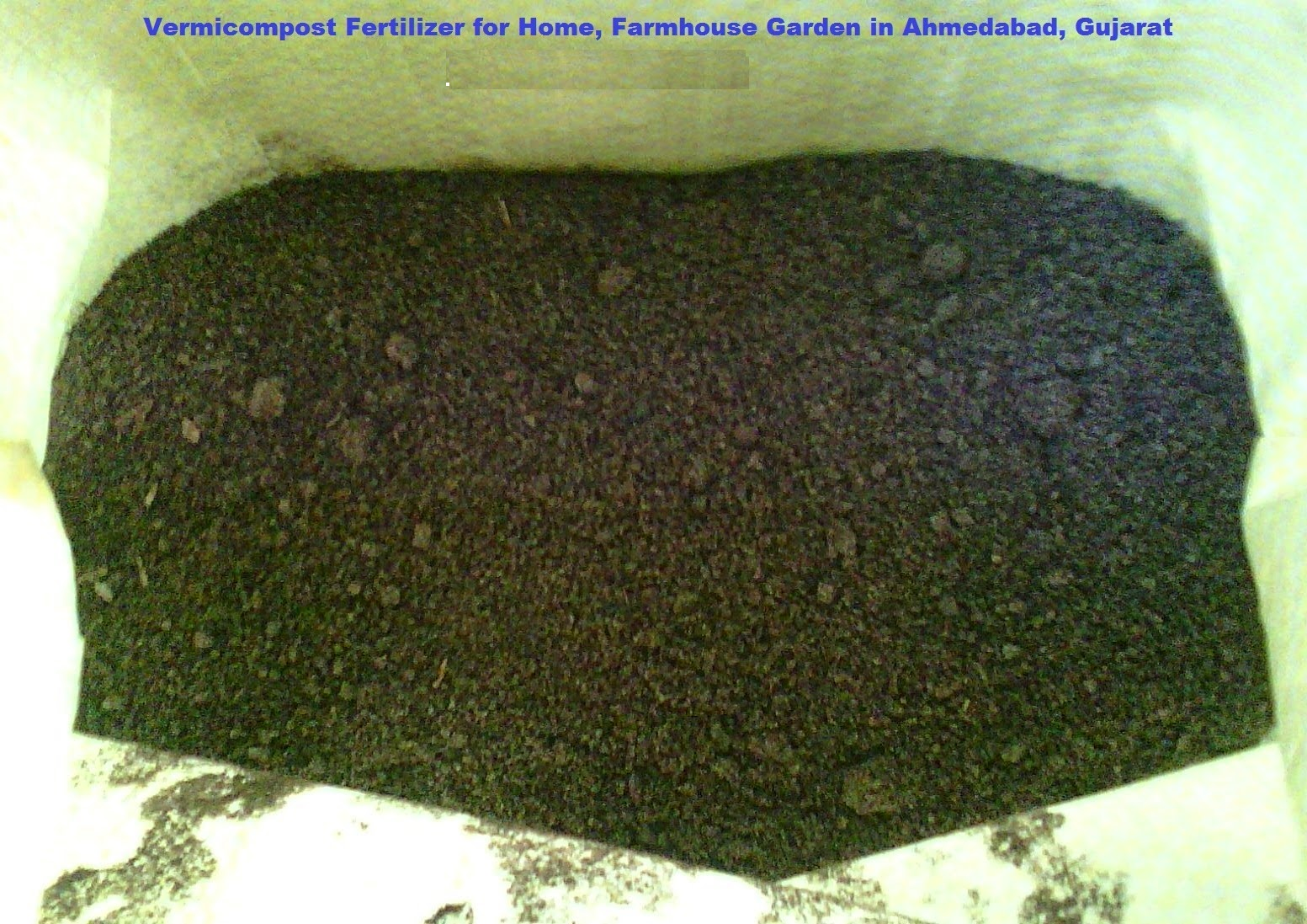 Bonsai Trees and Plants in Ahmedabad for Sale: Vermicompost Fertilizer