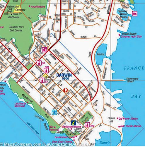 map darwin hema
