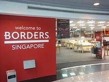 Borders Bookstore, Singapore