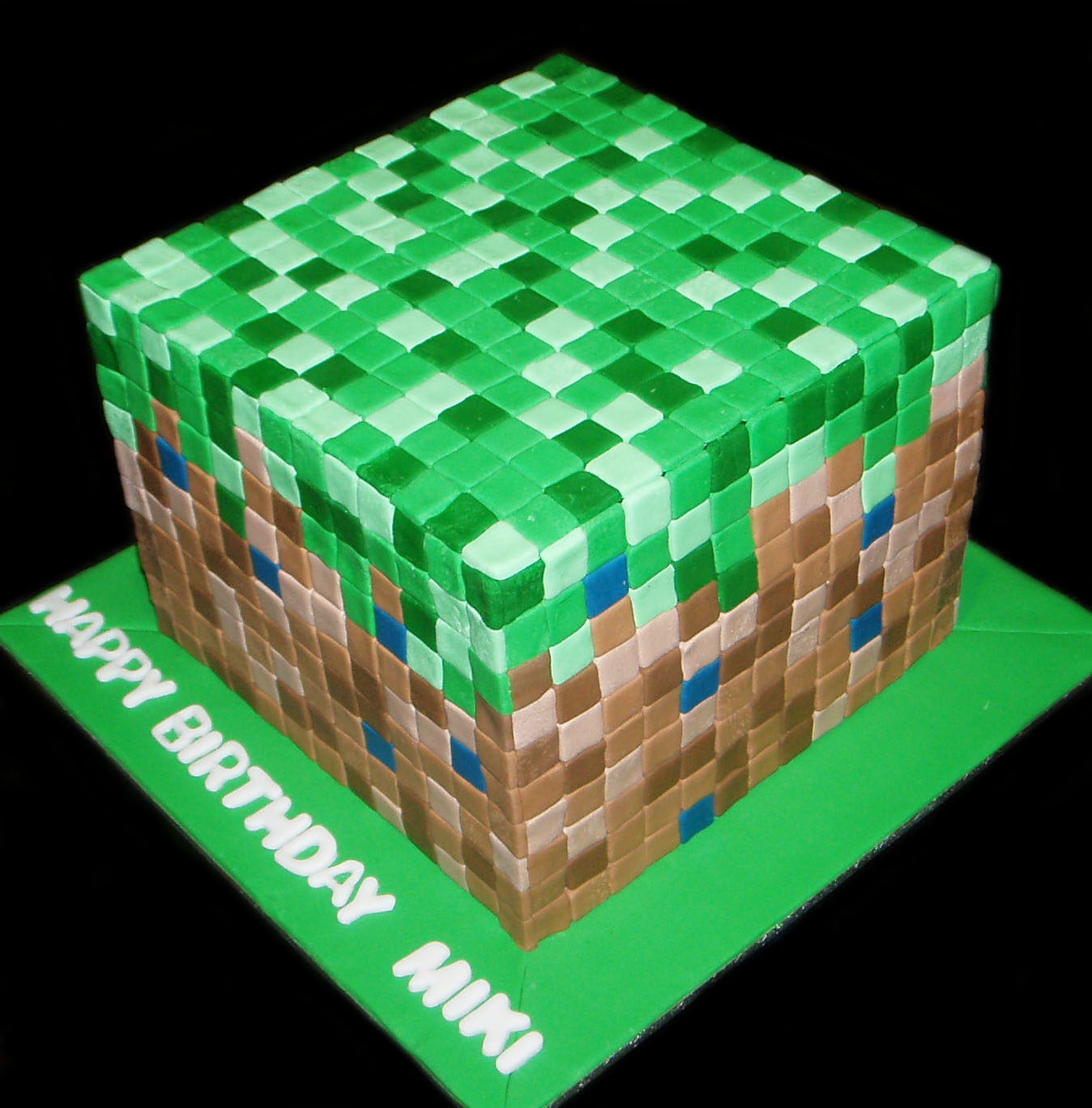 Nada's cakes: Minecraft Cake - by Nada's Cakes Canberra