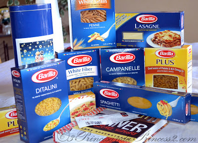 Assorted Barilla Pasta