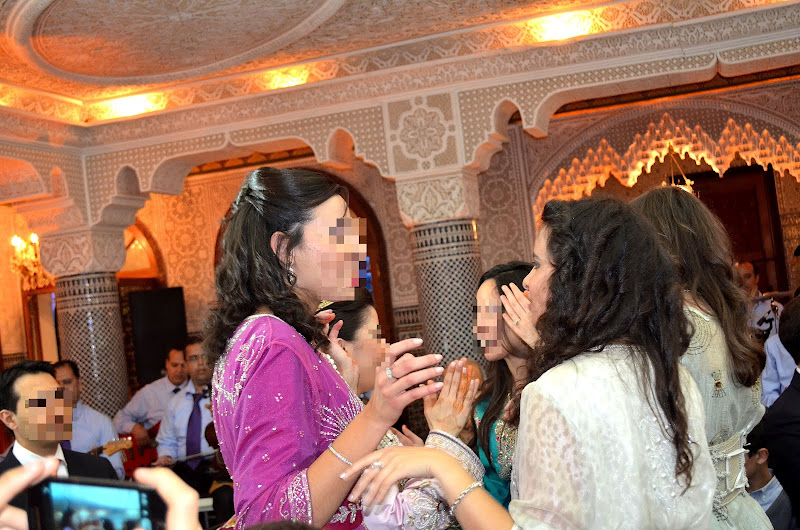 the serial shopper at a moroccan wedding