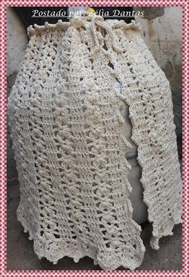 Capa de bujão em crochê