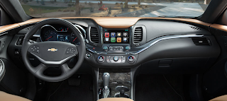 Chevrolet Impala - interiors