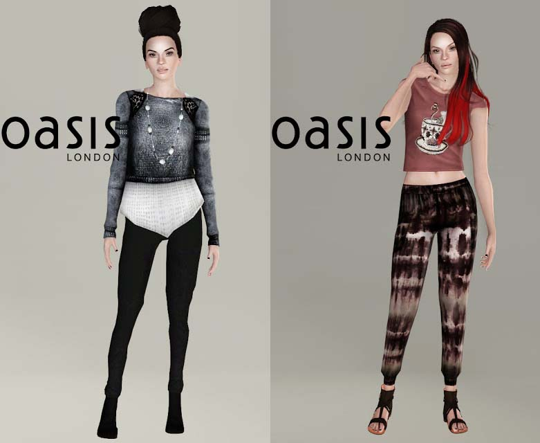 my sims 3 oasis 2013 fashion clothes set by