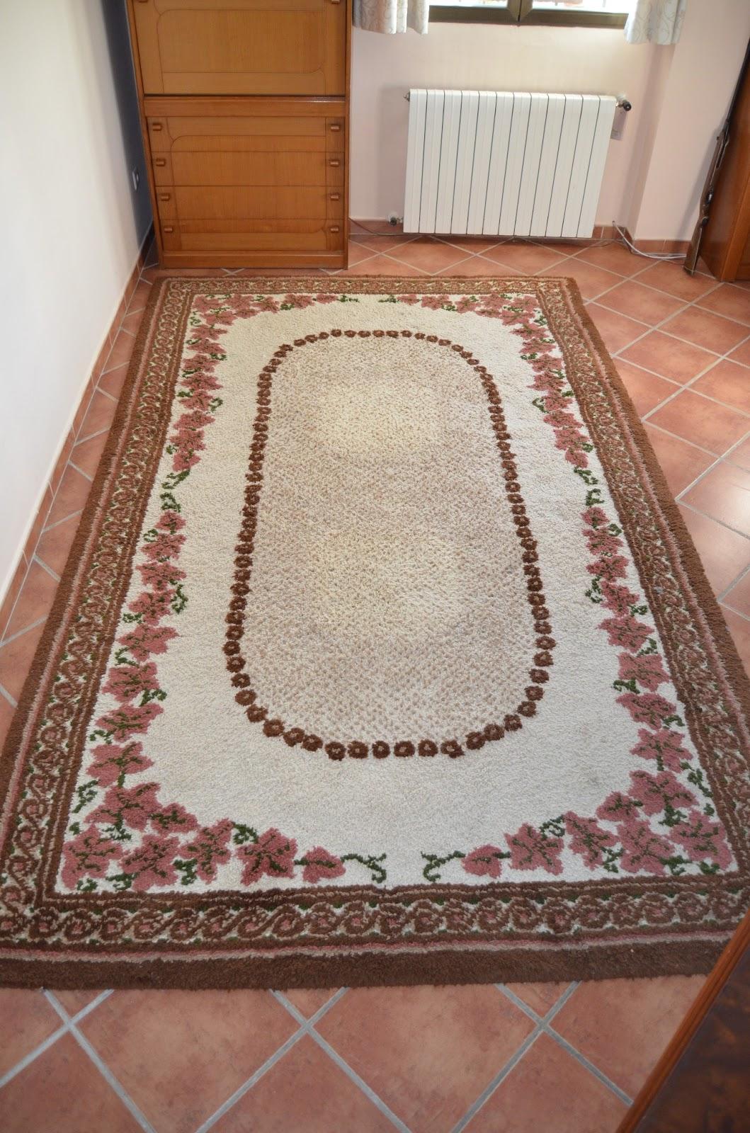 Alfombras y tapices alfombra de salon oto o - Alfombras de lana para salon ...