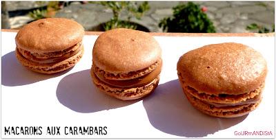 IMage Macarons aux Carambars