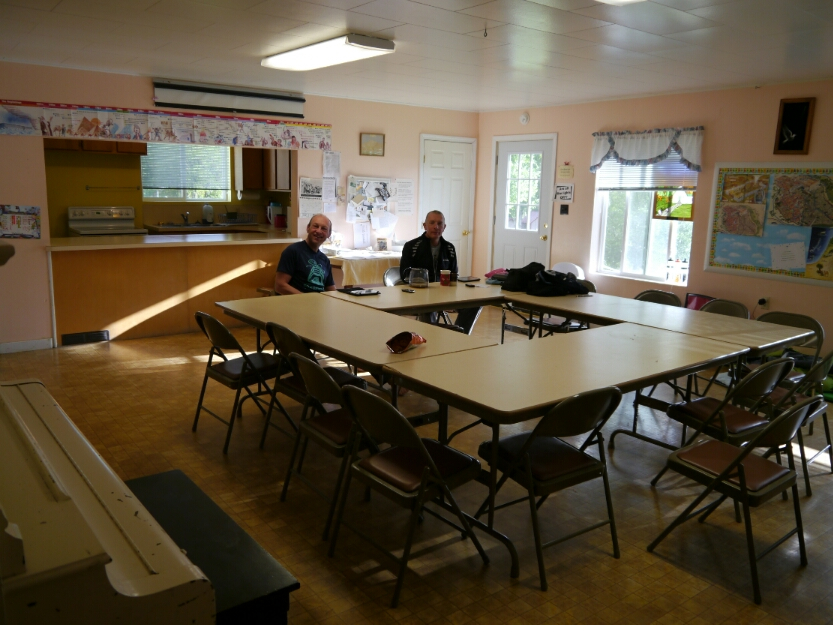 church social room