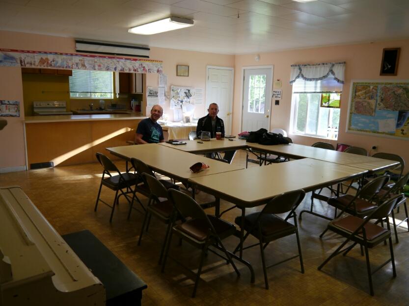 church social room