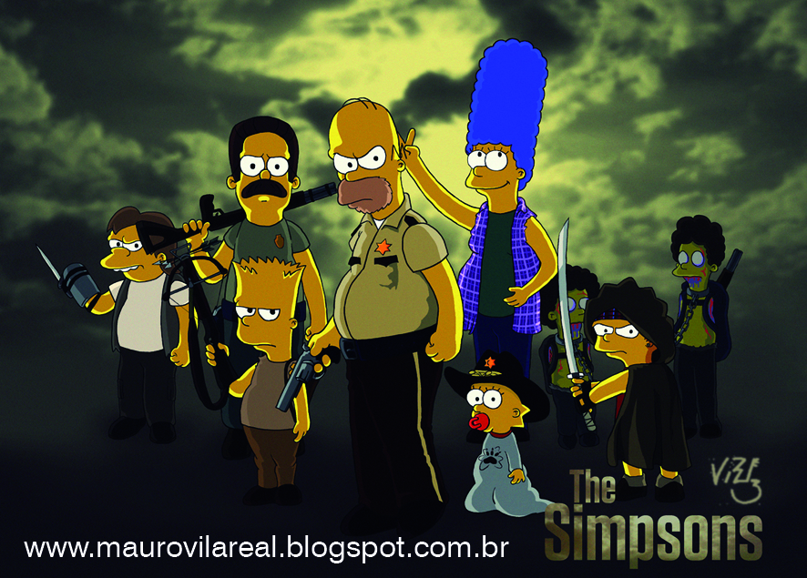 The Walking Dead Simpsonizados (+ bonus)