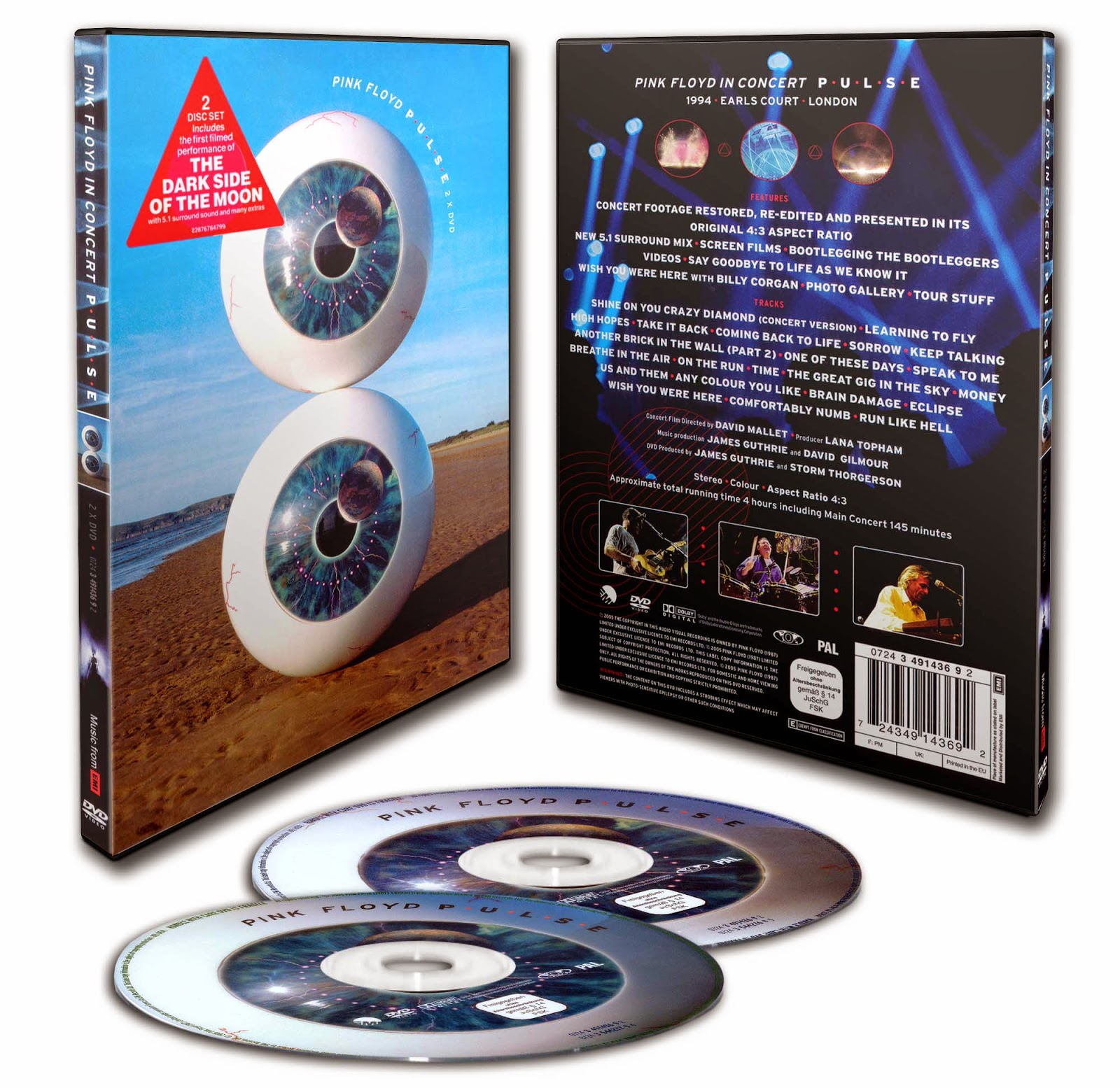 Pink Floyd - 2 DVDs Imperdibles!