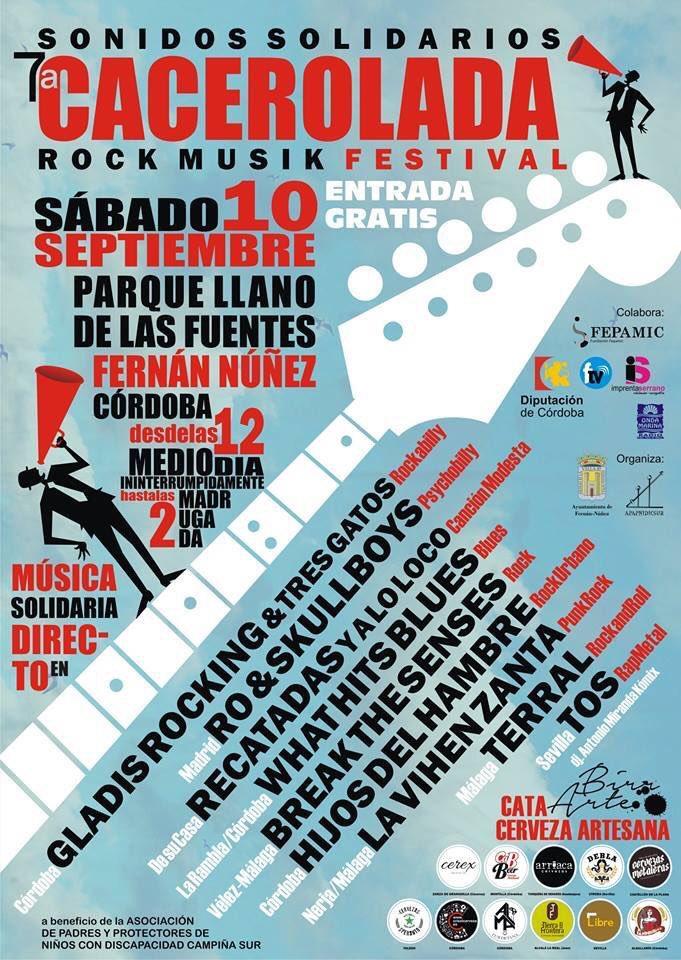FESTIVAL ROCK EN FERNAN NUÑEZ