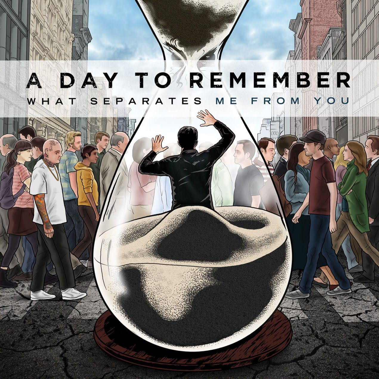Day To Remember - What Separates Me From YouWhat Separates Me From You Album Cover