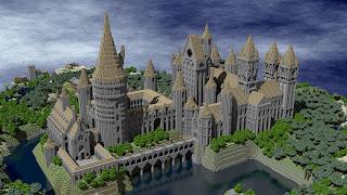 castillo de minecraft