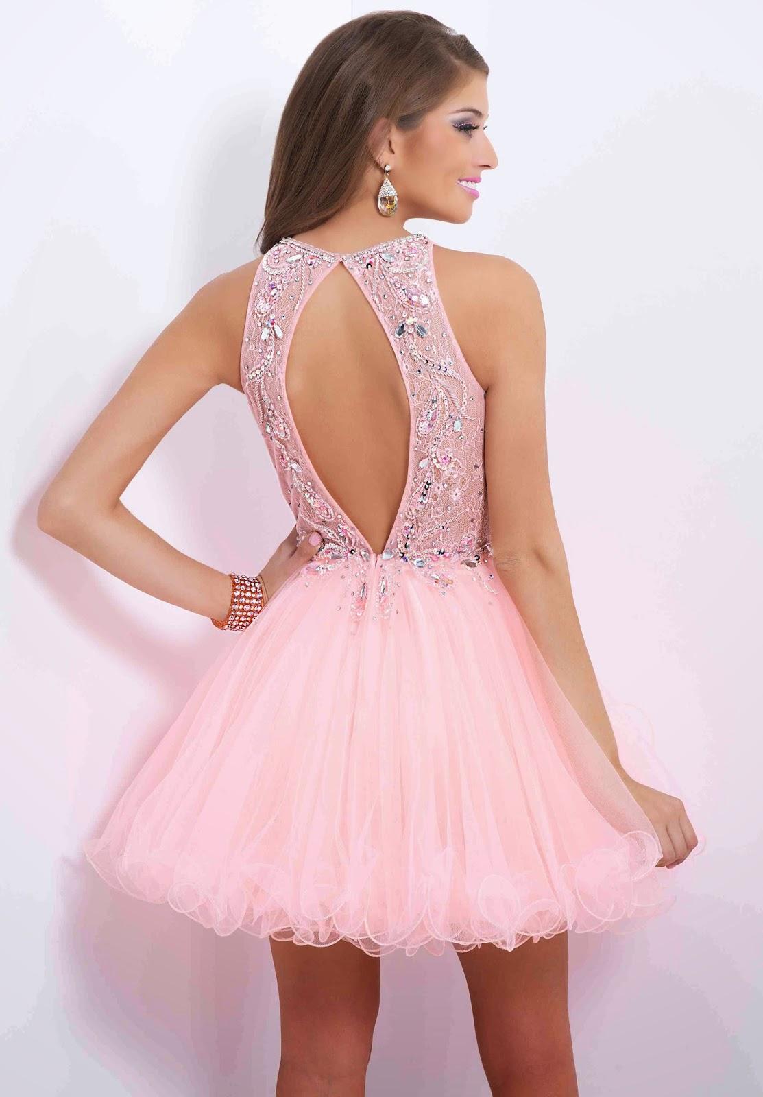 Increíble Vestidos Cortos Proms Regalo - Colección del Vestido de la ...