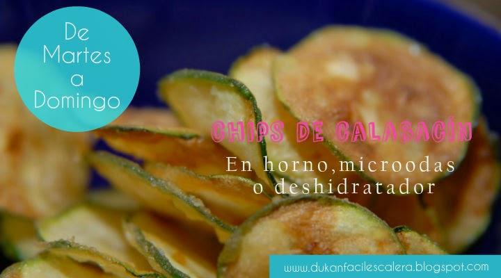 chips de calabacin un tentempié sano que les gustara a toda la familia.Podrás hacerlos en horno,microondas o deshidratador