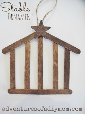 DIY Stable Ornament